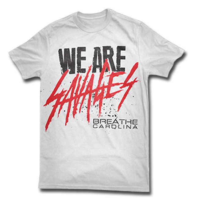 BREATHE CAROLINA (SAVAGES) T-SHIRT
