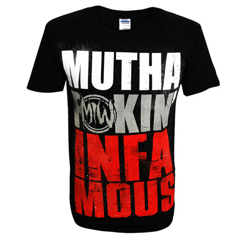MOTIONLESS IN WHITE (FUCKIN INFAMOUS) T-SHIRT