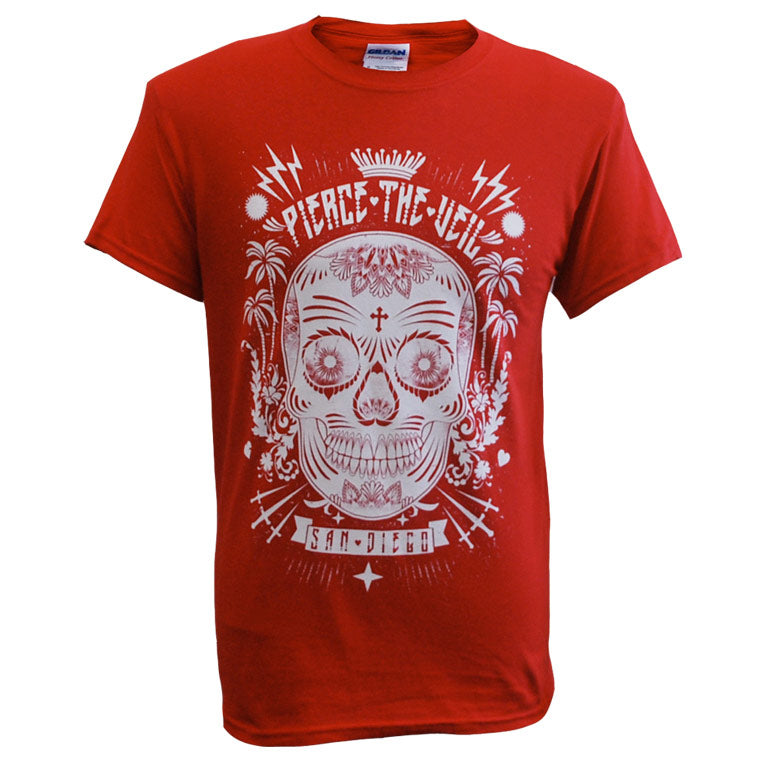 PIERCE THE VEIL (SUGAR SKULL) T-SHIRT