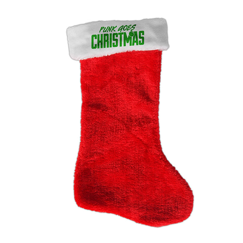 FEARLESS RECORDS CHRISTMAS STOCKING (RED)
