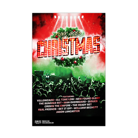 PUNK GOES CHRISTMAS POSTER