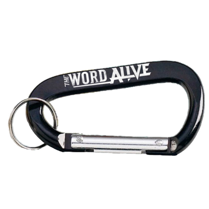 THE WORD ALIVE CARABINER