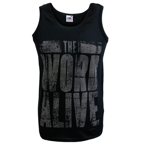 THE WORD ALIVE (FADED TEXT) VEST