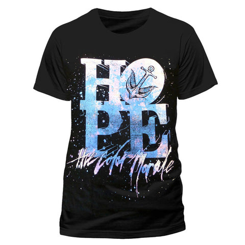 THE COLOR MORALE (STACKED LOGO) T-SHIRT