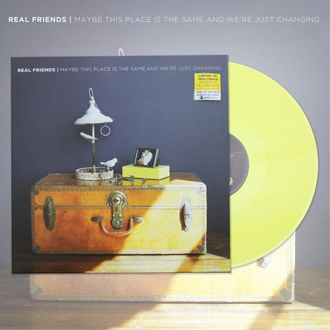 REAL FRIENDS (MAYBE THIS PLACE...) EASTER YELLOW VINYL