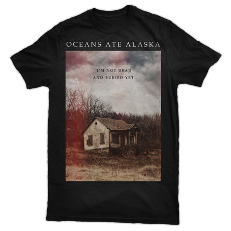 OCEANS ATE ALASKA (FLOORBOARDS LYRICS) T-SHIRT