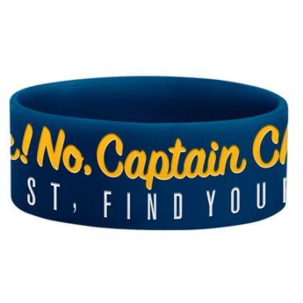 CHUNK! NO, CAPTAIN CHUNK! (GET LOST, FIND YOURSELF) WRISTBAND