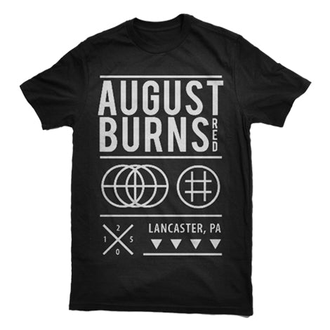 AUGUST BURNS RED (CIRCLES) T-SHIRT