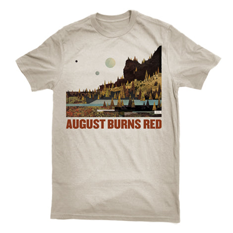 AUGUST BURNS RED (FOUND IN FAR AWAY PLACES) T-SHIRT