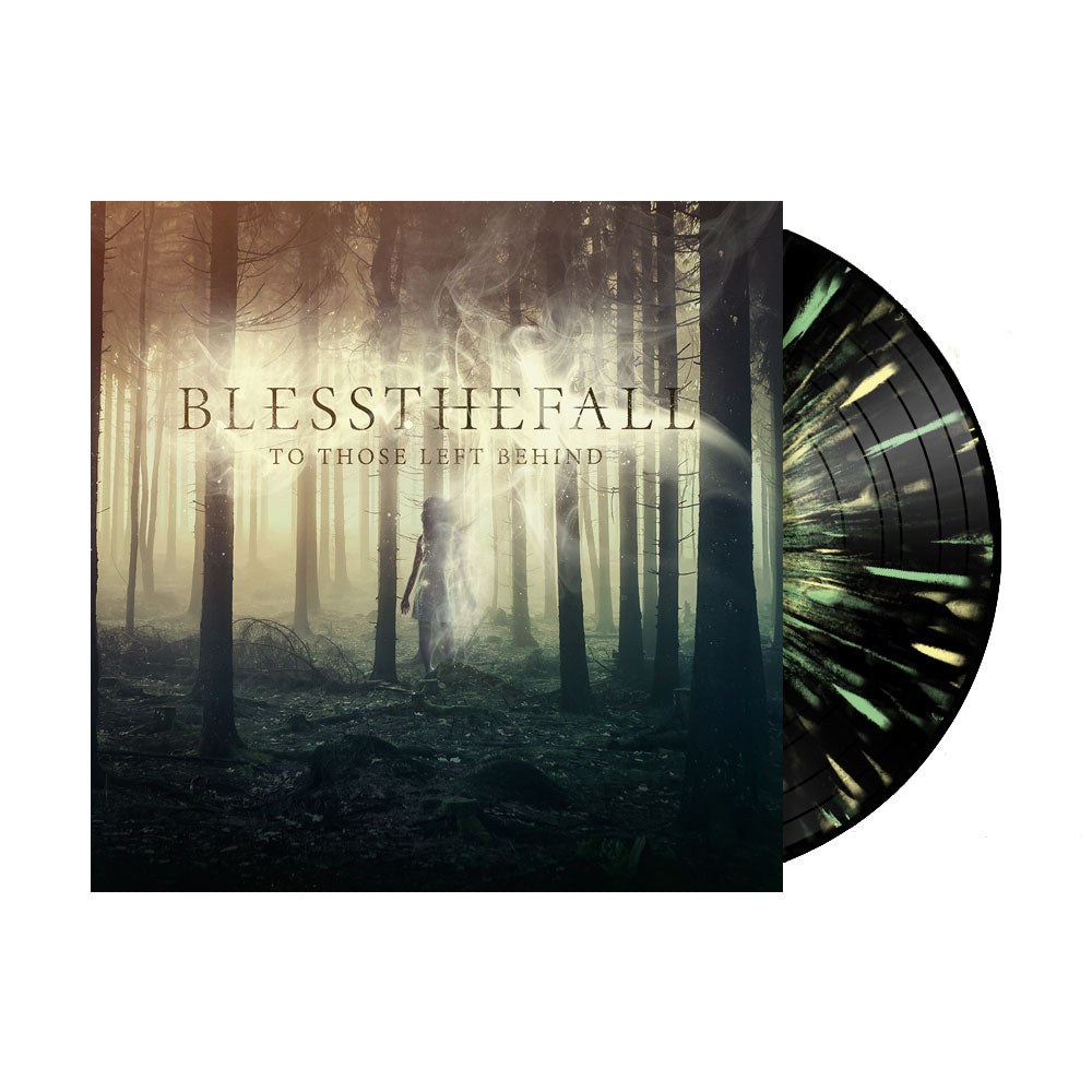BLESSTHEFALL (TO THOSE LEFT BEHIND) BLACK WITH GREEN & YELLOW SPLATTER VINYL