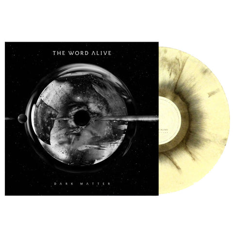THE WORD ALIVE (DARK MATTER) BLACK AND WHITE MARBLE VINYL
