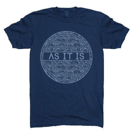 AS IT IS (BLUE) T-SHIRT