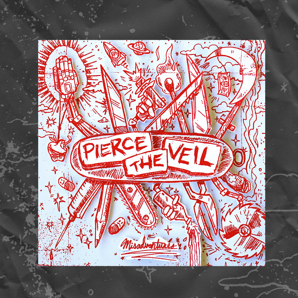 PIERCE THE VEIL (MISADVENTURES) DIGI-PACK CD