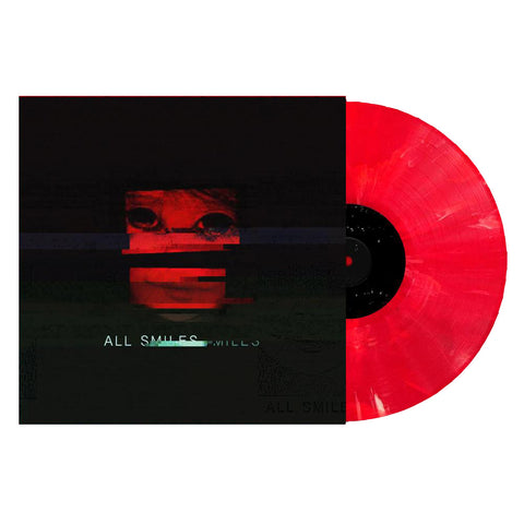 SWORN IN (ALL SMILES) TRANSPARENT RED WITH WHITE SWIRL VINYL