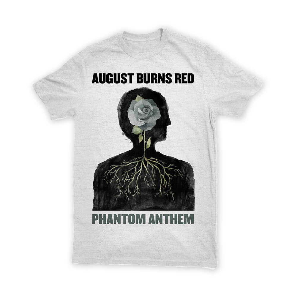 AUGUST BURNS RED (PHANTOM ANTHEM) WHITE SHIRT
