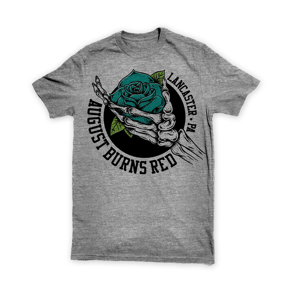 AUGUST BURNS RED (ROSE) GREY SHIRT