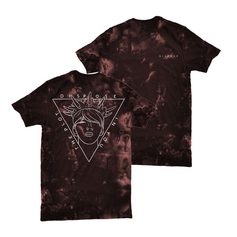 THE PLOT IN YOU (DISPOSE) TYE DYE SHIRT