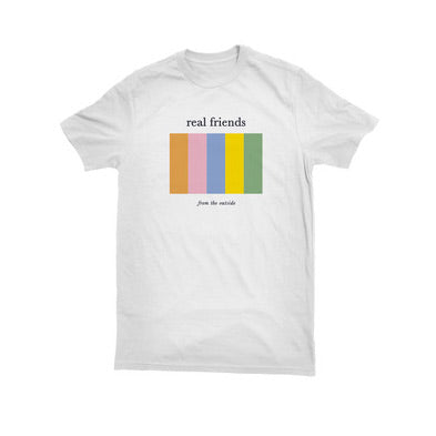 REAL FRIENDS (FROM THE OUTSIDE) T-SHIRT