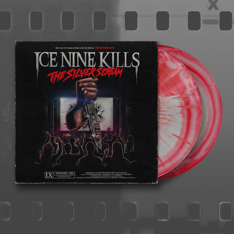 Ice Nine Kills (The Silver Scream) Translucent Red & Silver Vinyl With Red Splatter