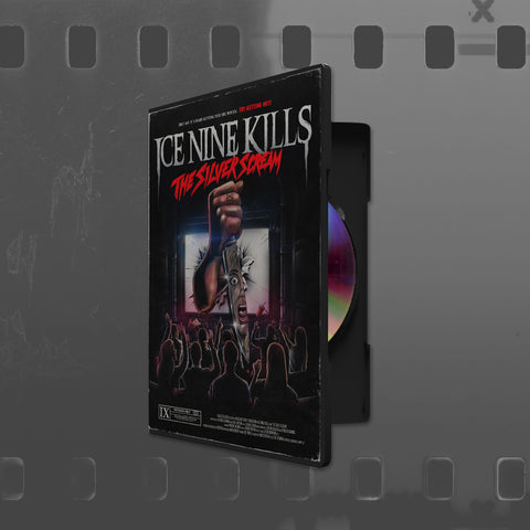 ICE NINE KILLS (THE SILVER SCREAM) CD *LIMITED EDITION DVD CASE PACKAGING