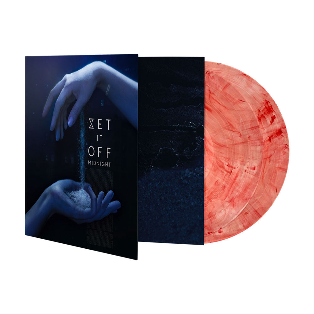 SET IT OFF 'MIDNIGHT' DOUBLE BLOODSHOT VINYL LP