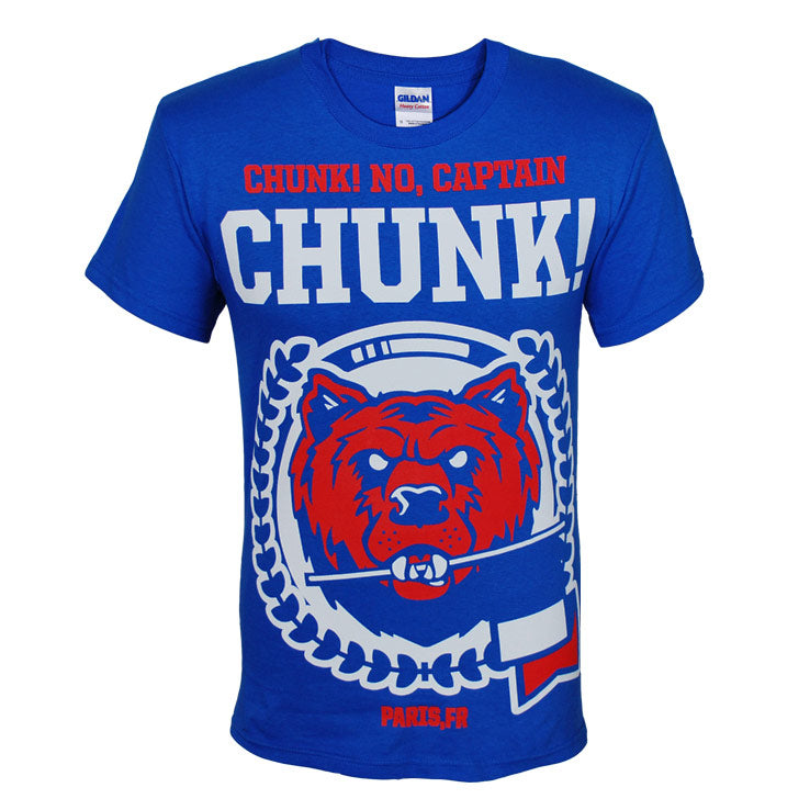 CHUNK! NO, CAPTAIN CHUNK! BEAR T-SHIRT