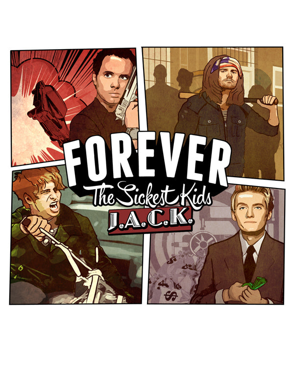 FOREVER THE SICKEST KIDS 13'' POSTER