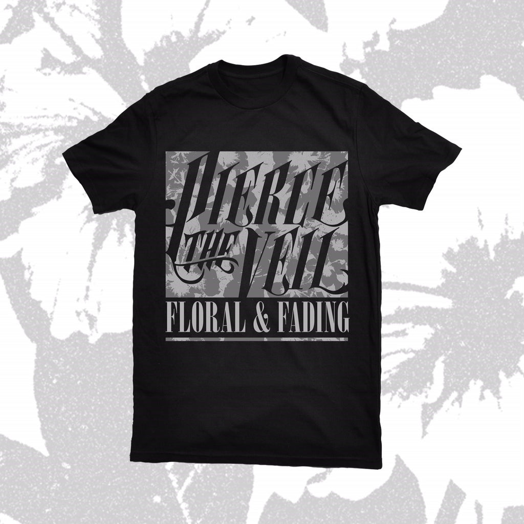 PIERCE THE VEIL (FLORAL & FADING) T-SHIRT
