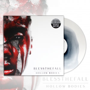 BLESSTHEFALL (HOLLOW BODIES) BLACK & WHITE VINYL