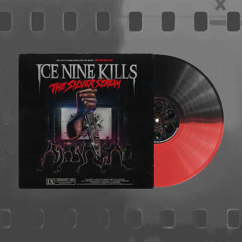 ICE NINE KILLS - THE SILVER SCREAM VINYL ALBUM (OPAQUE BLACK & BLOOD RED LP)