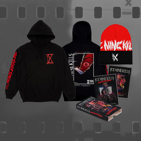 ICE NINE KILLS - THE SILVER SCREAM (FINAL CUT) / CD & DVD + HOODIE + BEANIE BUNDLE