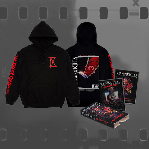 ICE NINE KILLS - THE SILVER SCREAM (FINAL CUT) / CD & DVD + HOODIE BUNDLE