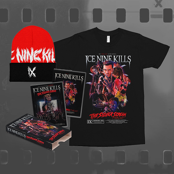 ICE NINE KILLS - THE SILVER SCREAM (FINAL CUT) / CD & DVD + T-SHIRT + BEANIE BUNDLE