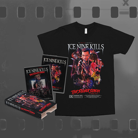 ICE NINE KILLS - THE SILVER SCREAM (FINAL CUT) / CD & DVD + T-SHIRT BUNDLE