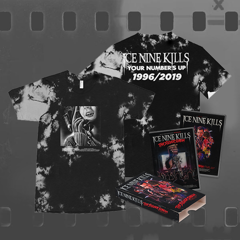 ICE NINE KILLS - THE SILVER SCREAM (FINAL CUT) / CD & DVD + TIE DYE T-SHIRT BUNDLE