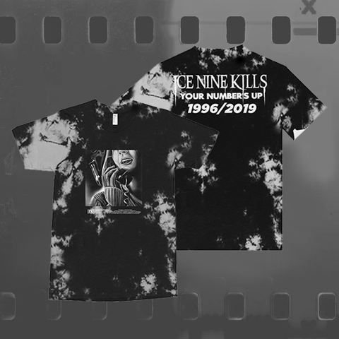 ICE NINE KILLS - TIE DYE T-SHIRT