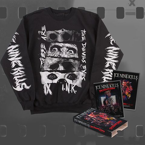 ICE NINE KILLS - THE SILVER SCREAM (FINAL CUT) / CD & DVD + SWEATSHIRT BUNDLE