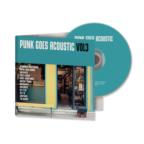 PUNK GOES ACOUSTIC VOL. 3 CD ALBUM