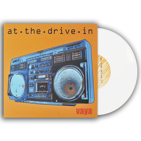 "AT THE DRIVE IN (VAYA) 10"" WHITE VINYL"
