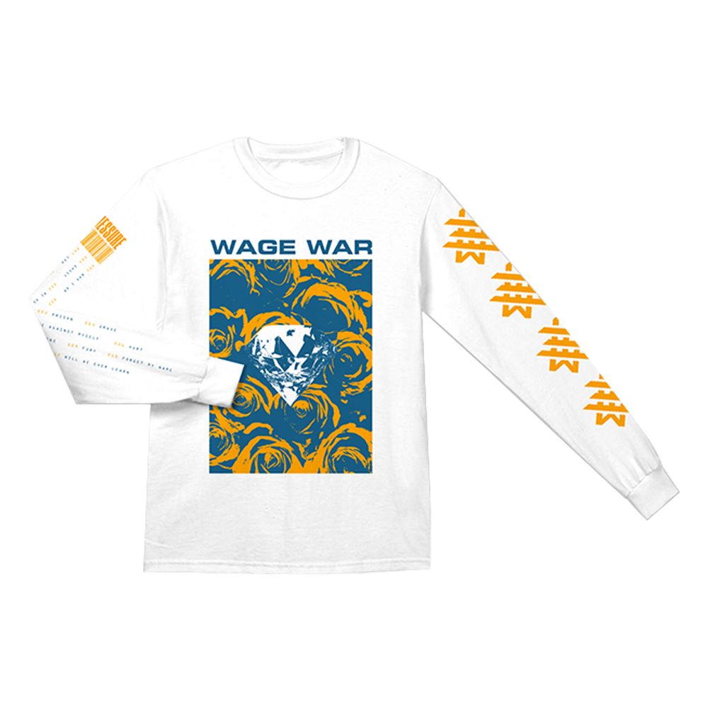 WAGE WAR (PRESSURE) LONG SLEEVE T-SHIRT