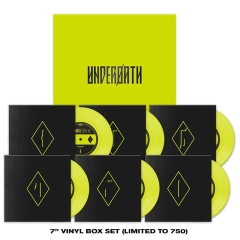 "UNDEROATH (ERASE ME) 7"" BOX SET"