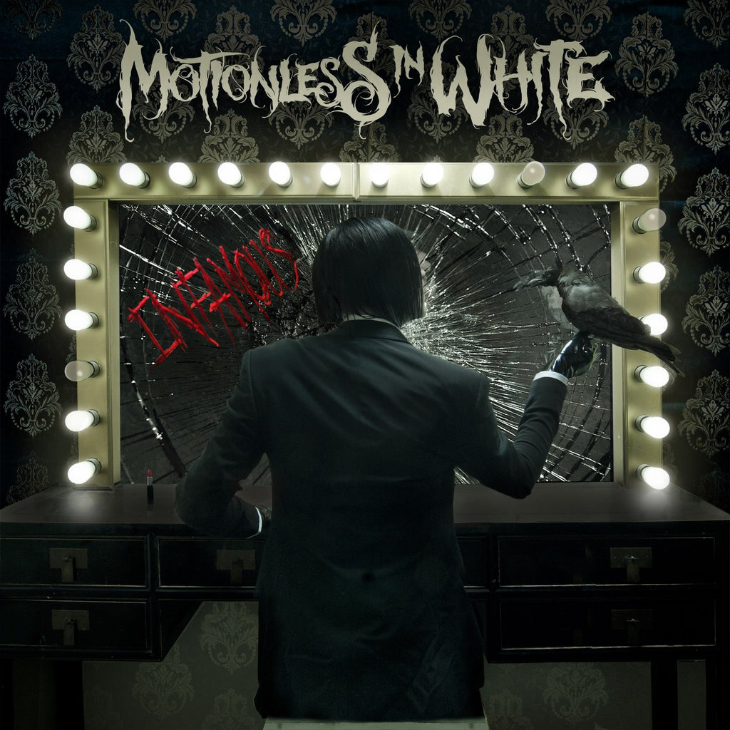 MOTIONLESS IN WHITE (INFAMOUS) CD