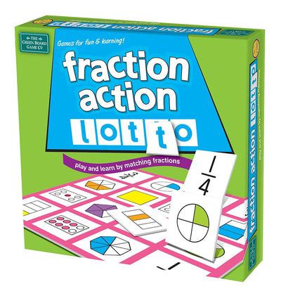 Fraction Action Lotto Game