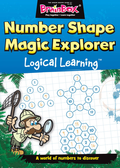 Logical Learning Number Shape Magic Explorer Maths Workbook