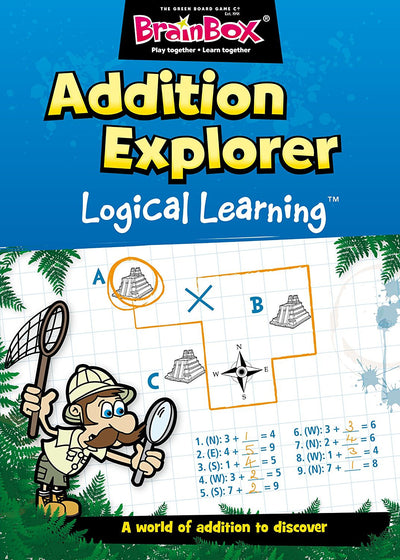 Logical Learning Addition Explorer Maths Workbook