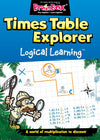 Logical Learning Times Table Explorer Maths Workbook