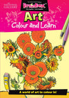 Colour and Learn Art Designs Colouring Book