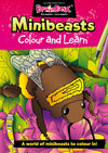 Colour and Learn Minibeasts Designs Colouring Book
