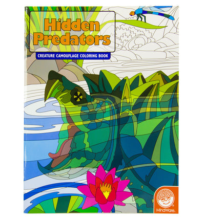 Hidden Predators Colouring Book