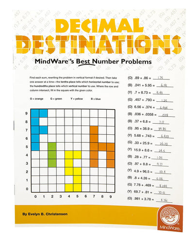 Decimal Destinations Maths Book